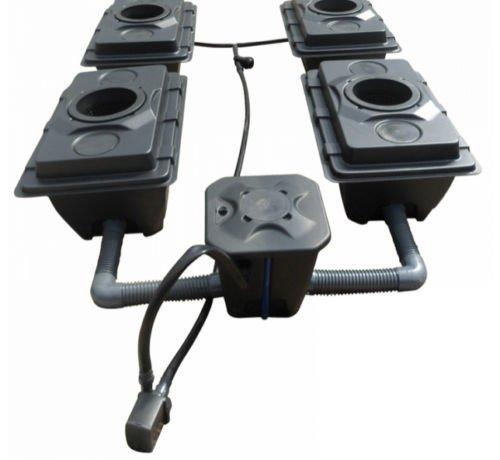 RUSH 6x40L Pot Deep Water Kultur DWC Oxy Pot Bubbler Hydroponics System-IWS
