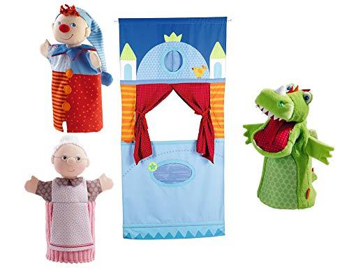 HABA Puppentheater Puppe Kinder (4tlg. Theater-Set)