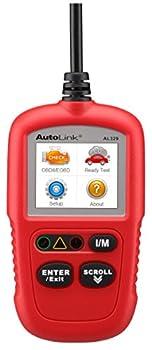 Autel Autolink Al329 Upgraded AL319  Code Reader OBDII Scanner