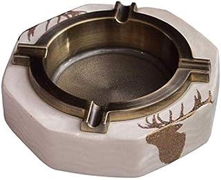 BBGSFDC Los Productos for el hogar, Moda cenicero Ornamentos Cerámica Cenicero Personalizada, Creativa Luz Tendencia decor...