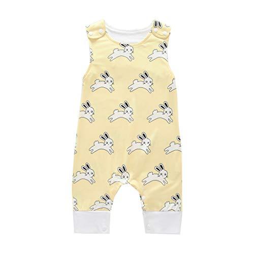 Allence Alles Gute zum Waldtiere Cartoon Print - Baby Geschenk für Mutter Baby Strampler Body Kurzarm Strampler Overall Outfit Kleidung Sommer Neugeborenes Kleidung Verschiedene Größen