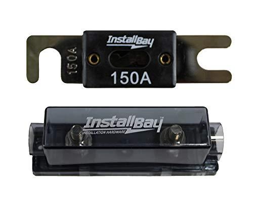 Nickel Plated ANLFH Fuse Holder Install Bay Metra + ANL-150 Fuse