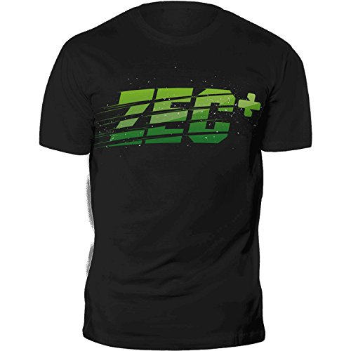 ZEC+ Herren T-Shirt Fitness Sports in Black Größe L