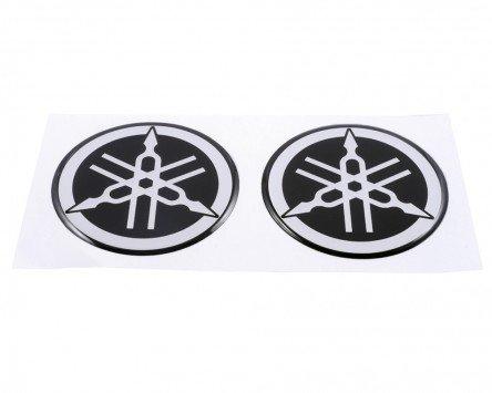 YAMAHA Emblem Aufkleber Set 6cm, 2 Stück