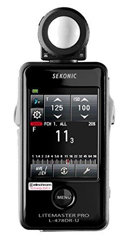 Sekonic LiteMaster Pro L-478DR-U-EL Series Light Meter for Elinchrom...