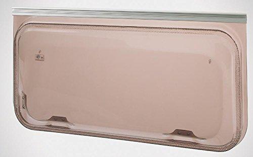 Ventana universal Europa Color Color Bronce–Tamaño 1450x 550 cm (ancho x alto)Repuestos / Accesorios para Casas Rodantes / Caravan.