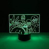 3D LED錯視ランプ 子供のためのベビーナイトランプ寝室装飾ランプUsb常夜灯クールナイトライト子供