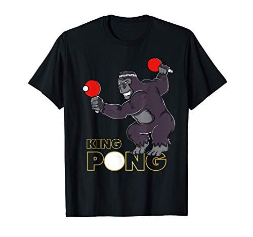 King Pong - Ping Pong Table Tennis T-Shirt
