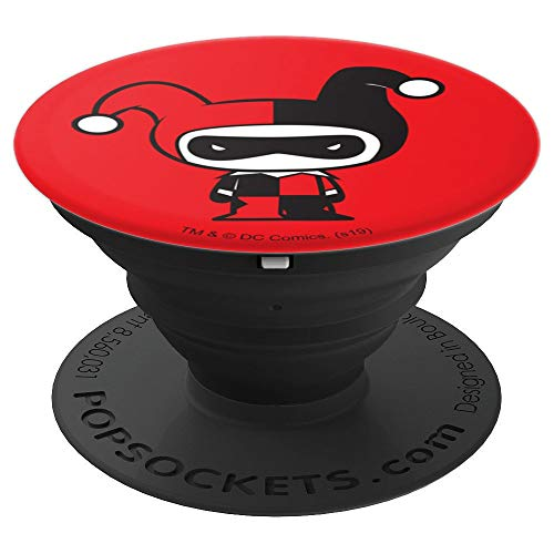 Harley Quinn Cute Chibi Character PopSockets Grip and Stand for Phones and Tablets