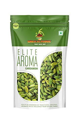 SHRILALMAHAL Elite Aroma, Whole Green Cardamom 8mm Bolt...