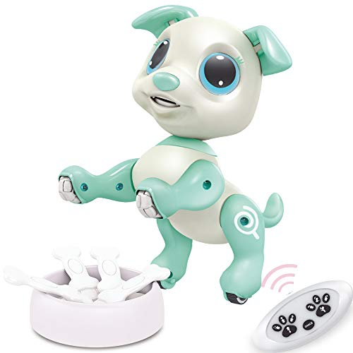 BIRANCO. RC Dog, Electronic Pets - Remote Control, Gesture Control, STEM Programmable Actions, Walk...