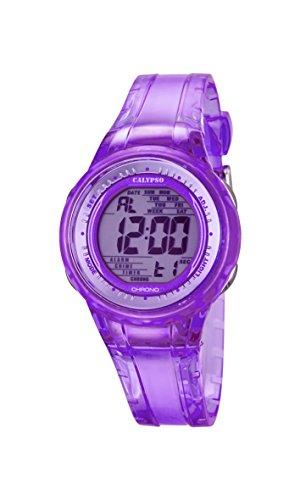 Calypso Damen Digital Uhr mit Plastik Armband K5688/3