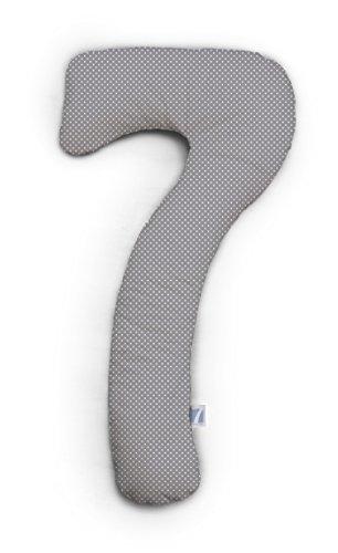 Theraline L'oreiller de grossesse et coussin d'allaitement 150 cm accessoires d'allaitement, gris