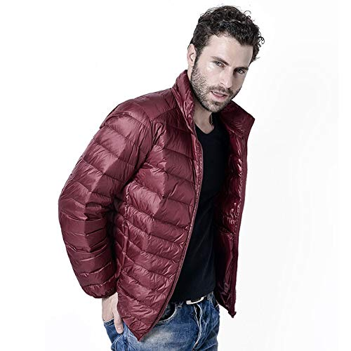 GYXYYF Winter Heren Ultralight Jacket Wit Eend Down Jacket Mannen Down Jassen Buiten Winter Man Casual Jas