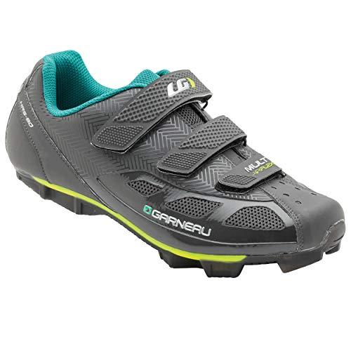 Louis Garneau, Women's Multi Air Flex Bike Shoes for Indoor Cycling, Commuting and MTB, SPD Cleats Compatible with MTB Pedals, Asphalt, US (8), EU (39)