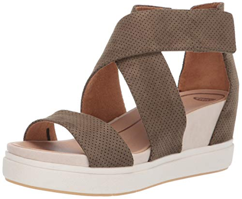 Dr. Scholl's Women's Sheena Wedge Sandal, Moss Green...