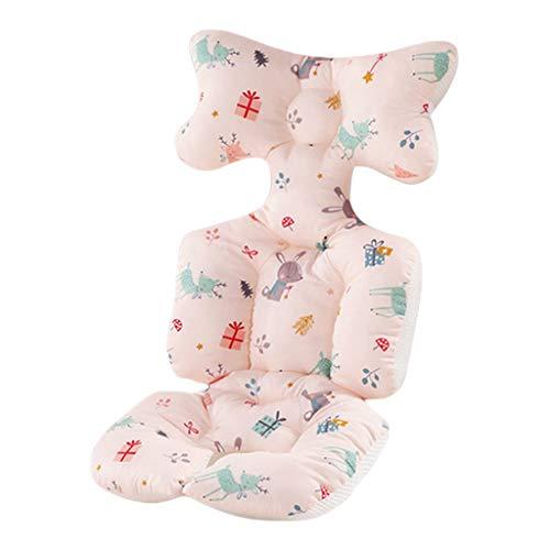 ZZALLLCojín de algodón para Cochecito Alfombra cálida Colchón para Dormir Almohada Forro para Asiento de Cochecito de bebé - 2#
