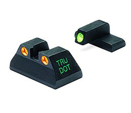 Meprolight Heckler & Koch Tru-Dot Night Sight for USP compact. Fixed set with Orange rear/Green front