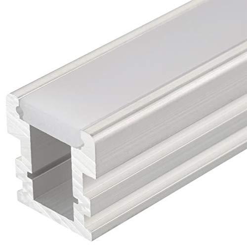 LED ALU Aluminium Profil Leiste Schiene HR-LINE-12-2m, eloxiert LK#522199