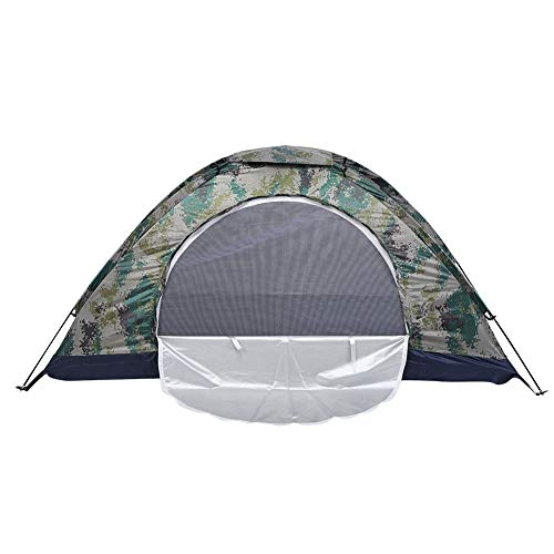 Ultralight Tent Single Layer Dome Tent, Pop Up Tent, Automatic Instant Tent Waterproof for Hiking Fishing Mountaineering, for Single Person