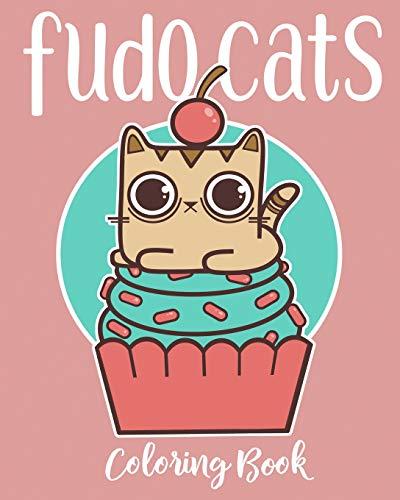 Fudo Cats Coloring Book
