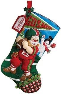Best bucilla football santa stocking kit Reviews