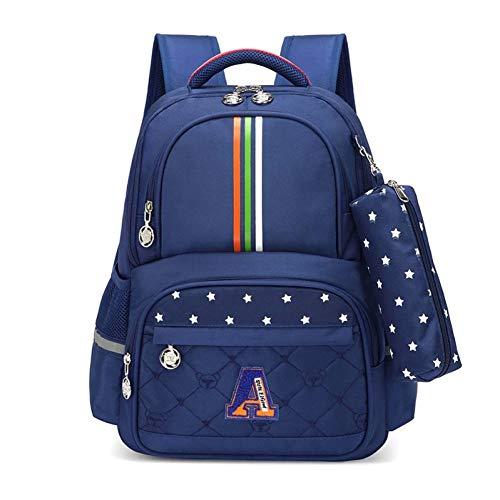ZHIHUI Schultasche Mädchen Schultasche Schultaschen Für Mädchen Kinder Rucksäcke Mädchen Schulrucksack Kinder Tasche Armbrust,Blue Boy