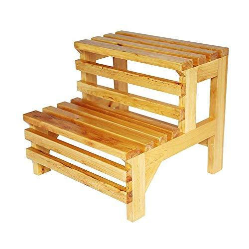 Z-H Huishoudelijke ladder kruk veranderen van zijn schoenen gang bad massief hout stap kruk ladder kruk multifunctionele
