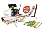 Guide Dots Kids Art Kit   Drawing Kit   3 Months of Online Art Instruction and Starter Kit for Kids Ages   Gift for Boys and Girls (Ages 8-10)