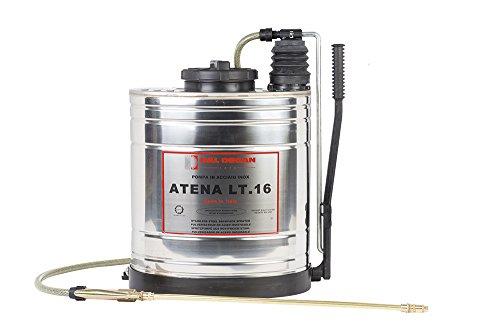 Dal Degan Atena Pompa a Spalla Professionale, 16 l, Inox, 52x21x44 cm