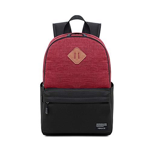 Mode-Laptop-Tasche, Satch Pack Outdoor Multifunktions-Notebook Tablet Rucksack, Geschäftsreise Reisegelegenheits Backpackage Baoaiyiyuanguanli (Color : Red)