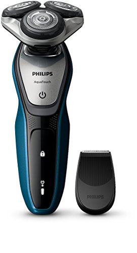 Philips S5420/06 Series 5000 Aqua Touch Electric Shaver with Smart Click Precision Trimmer