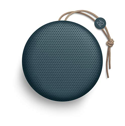 Bang & Olufsen Beoplay A1 Portable Bluetooth Speaker with Microphone - (Steel Blue)(Renewed)