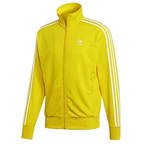 adidas Originals Firebird Track Jacket Yellow LG