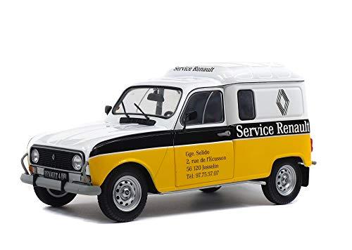 Solido - 1:18 Renault 4LF4, 1975, Maqueta de Coche Escala