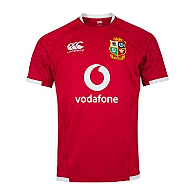 Canterbury of New Zealand Men's British and Irish Lions Pro Jersey, Tango Red, L from Canterbury