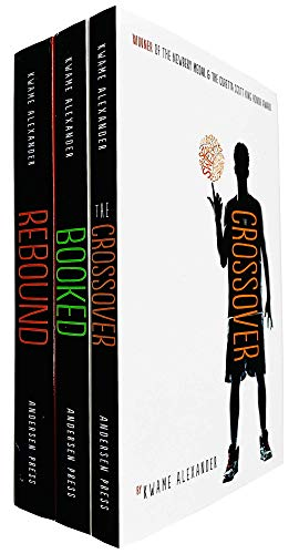 The Crossover Series 3 Books Collection Set by Kwame Alexander (The Crossover, Booked & Rebound)