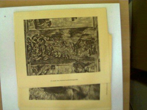 14 Tafelbilder Michelangelo - Die Sixtinische Decke,
