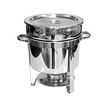 Tiger Chef Soup Warmer - 11 Qt Soup Chafer Catering Supplies Food Warmer - Chafing Dish Buffet Set - Food Warmers For Parties