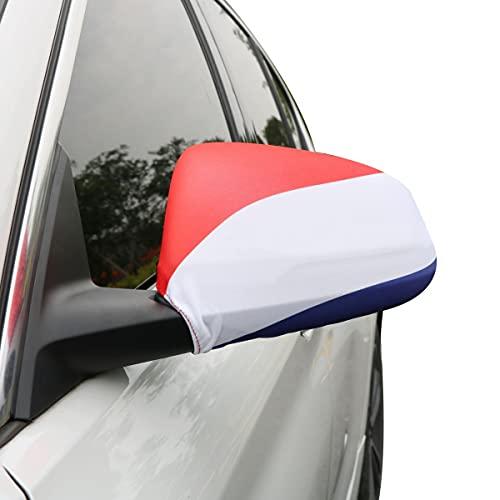 Sonia Originelli Auto Außenspiegel Fahne Set Niederlande Netherlands Holland Bikini Flagge EM WM