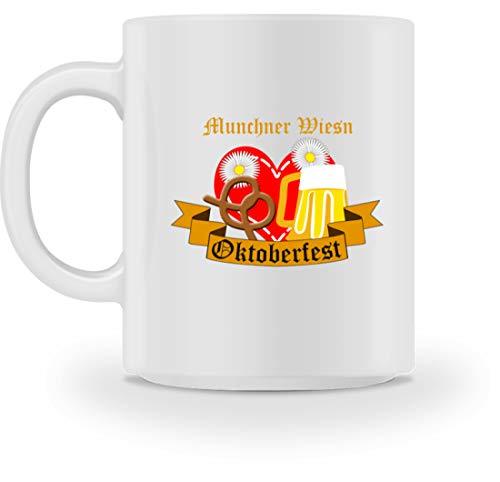 Generieke Müchner Wiesn Oktoberfest München Bayern feesttent Brezeln Brezeln Biermaatpul Masspul - Mok