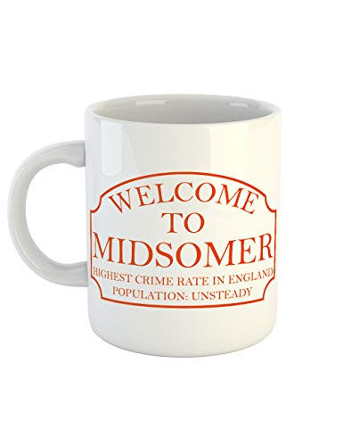 clothinx Kaffeetasse mit Aufdruck Midsomer Inspector