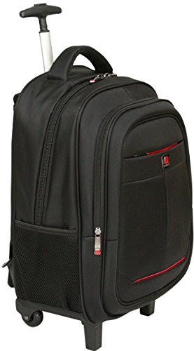 City Bag zaino ibrido per laptop fino a 15,4'' - con rotelle - ideale come bagaglio a mano