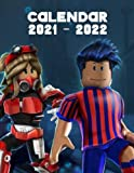 Gaming Calendar 2021-2022: Video Game 16-Month Monthly Planner Robloxers | Classroom, Home, Office Supplies