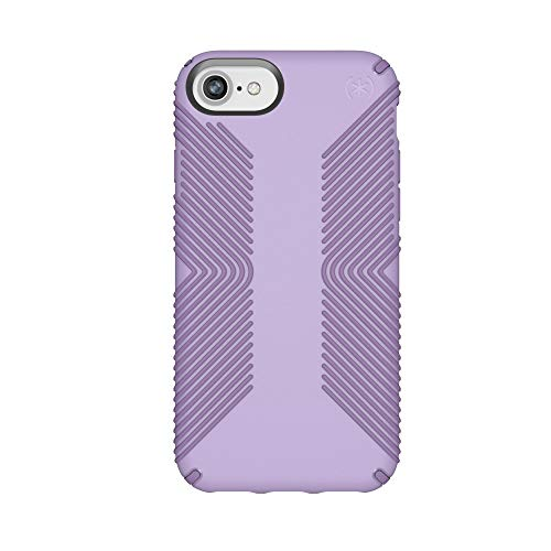 Speck Products Presidio Grip Case for iPhone 8 (Also Fits 7/6S/6), Aster Purple/Heliotrope Purple
