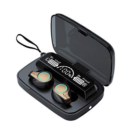 Touching Control Headphones Battery Display Earphone BT Earphones Wireless Headset Waterproof Sports Earbud with Charge Box