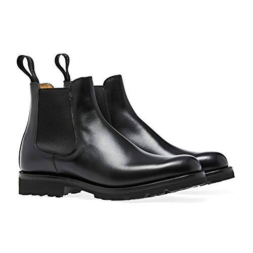Cheaney Made In England Amelie Boots 39 EU Black Calf