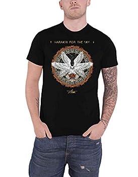Harakiri For The Sky T Shirt Fire Band Logo Official Mens Black Size m