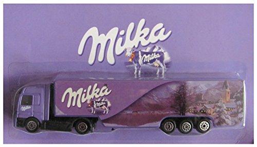 Milka Nr. - Weihnachten 2006 - MB Actros - Sattelzug