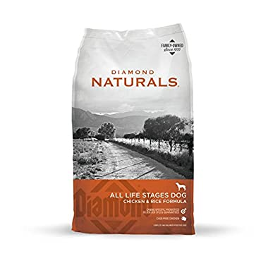 Diamond Naturals All Life Stages Real Meat Recipe Dry Dog Food with Natural Ingredients and Real Cage Free Chicken 40lb